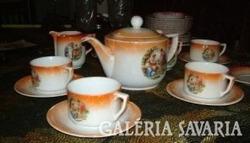 Csodás barokk - jelenetes Antik DRASCHE teás