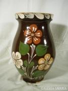 U221 B6 Régi jelzett kerámia váza
