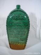 U064 R5 Évszámos vásárhelyi pálinkás butella MÓNUS