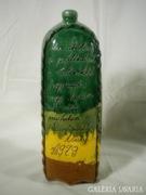U158 R5 Évszámos vásárhelyi pálinkás butella BANGA