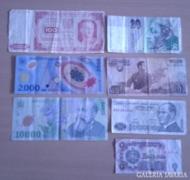 Külföldi pénzek Postaköltség nélkül!