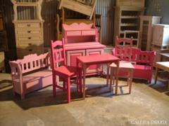 Rózsaszín és Pink színű gyerek bútor