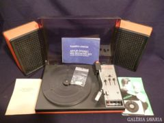 2345 F0 Retro ARTUR WG-900 lemezjátszó + 2 hangfal