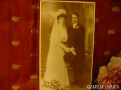Antik esküvői fotó