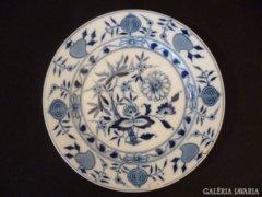 Y339 B2 Meisseni mintás Elbogen porcelán tányér