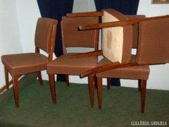 Régi párnázott szék - 4 db - együtt eladó