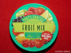 Cukorkás fémdoboz - Fruit Mix