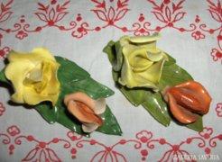 Aquincumi kézzel festett rózsa csokor - 2 db