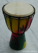 Indonéz kézzel készített hangszer > dob