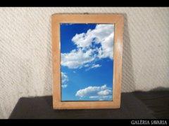 2656 T32 Régi borotválkozó tükör 26 x 36 cm