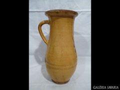 1428 R5 Nagyméretű szegedi tejes köcsög 29,5 cm
