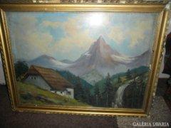 Szontágh Tibor (1873-1930) híres magyar festő, grafikus