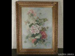 3150 T0 Antik virágcsendélet 1908-ból