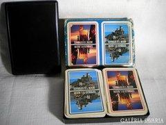 Q303 I1 Régi San Marino póker kártya 2 pakli