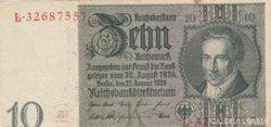 Német 10 Reichs Mark 1929