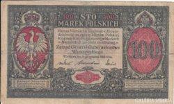 Lengyel 100 marek 1916