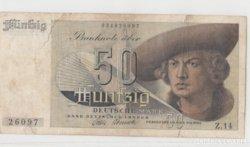 Német 50 DM 1948
