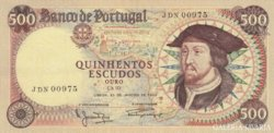 Portugal 500 escudos 1966 UNC !!!