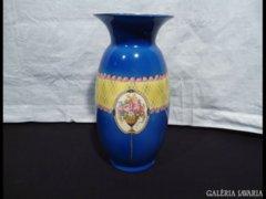 2619 I5 Antik oszták szecessziós majolika váza