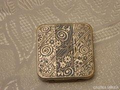 Antik FORVIL PARIS FRANCE szelence -kozmetikum/dohány tart