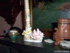 Antik rózsa gyertyatartó (2)