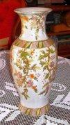 Liánmintás szeladonmázas váza