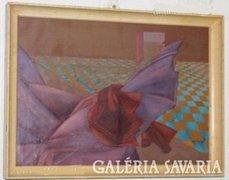 Egri Erzsébet képcsarnokos festménye