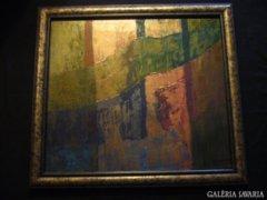 Sergio Valmir Bosa: THE GOLDEN TWILIGHT 61 X 56 cm