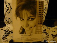 Claudia Cardinále dedikált fotó