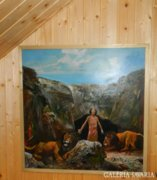 Kéri László : Dániel az oroszlánok barlangjában