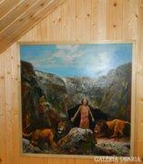 László Kéri: Daniel in the lion's cave