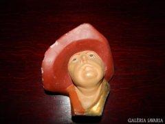 Kertesi Galéria terméke: kerámia fali brüszt