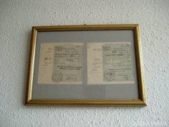 Takarékpénztári bizonylat 1911-ből!