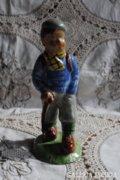 Jelzett (Izsépy) kisfiú terrakotta szobor