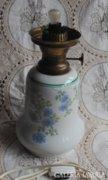 Hollóházi porcelán lámpa