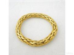 0999 Régi arany színű női bizsu karkötő