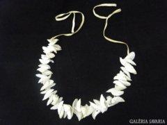 5553 Régi kagyló vastag női nyaklánc