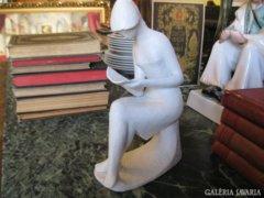 Wallendorf porcelán , nagy méretű figura