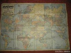 """2 darab térkép 1941-1943 Az """"IGAZSÁG"""""""