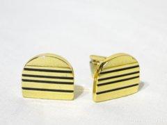 5730 Elegáns aranyszínű mandzsetta pár