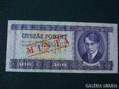 500 Forint minta 1990