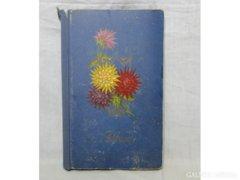 6143 Antik levelezőlap album fotóalbum