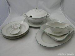 7013 Régi BAVARIA porcelán készlet 9 darab