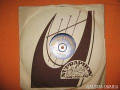 Supraphon lemez 1950-ből