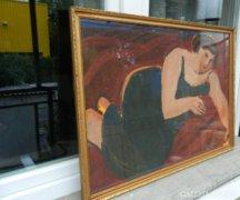 Lipták Pál hatalmas festménye