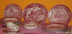 16 darabos Angol porcelán étkészlet