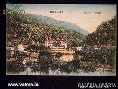 AE58 Antik képeslap Miskolcz - Hámori részlet