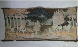 7189 Szarvasos látképes falikárpit faliszőnyeg