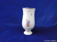 7470 Hollóházi porcelán váza díszváza 21,5 cm