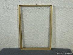 7824 Régi vágható aranyozott képkeret 34 x 50 cm